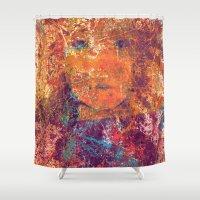 literary Shower Curtains featuring Bona Dea  by Fernando Vieira