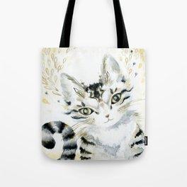 Curiosity Cat Tote Bag