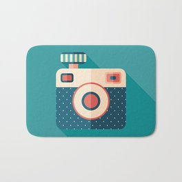 Camera with Flash Bath Mat