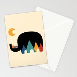 Dream In The Air Stationery Cards