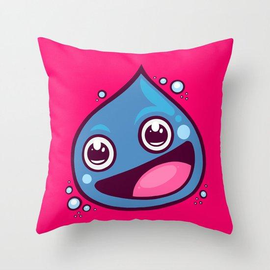 Dragon Slime Throw Pillow