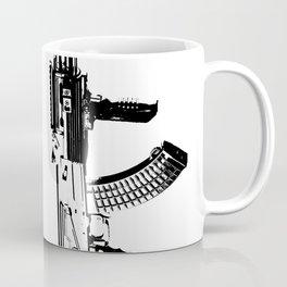 BLACK AK 47 Coffee Mug