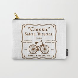 Classic Safety Bicycles Carry-All Pouch