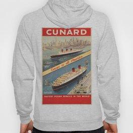 Vintage poster - Cunard Hoody
