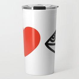 I LOVE PANTAM I LOVE HANDPAN T-SHIRT Travel Mug