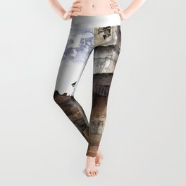 Cortona, Italy Leggings