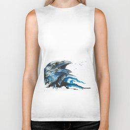 Blue crow Biker Tank