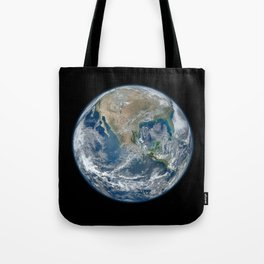 Planet Earth from Above Tote Bag
