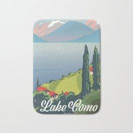 Lake Como Italy Bath Mat