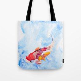 Hoopless: Coy as a Koi Tote Bag