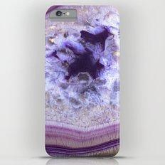 Purple agate slice iPhone 6 Plus Slim Case