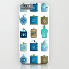 Flask Collection – Blue and Tan Palette iPhone 6s Slim Case