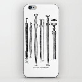 Examples of Iron Workmanship iPhone Skin