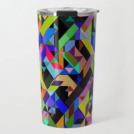 Aztec Geometric III Travel Mug