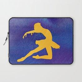 AP122 Watercolor dancer Laptop Sleeve