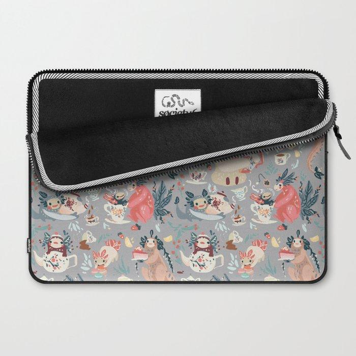 Tea Spirit pattern Laptop Sleeve