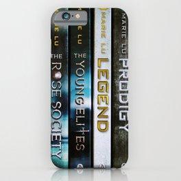 Marie Lu Book Spines iPhone Case