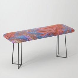 vibrant fractal Bench