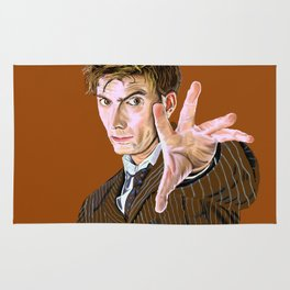 The Tenth Doctor Rug