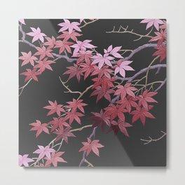 Kimono Coral Metal Print