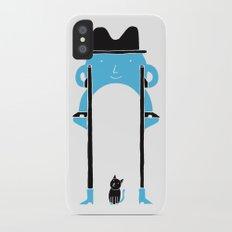 Mr Blue Boy iPhone X Slim Case