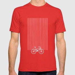 Blue Bike by Friztin T-shirt