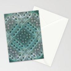 Mint Lace Stationery Cards