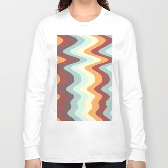Abstract lines 27 Long Sleeve T-shirt
