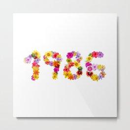 All Color Flower 1986 Metal Print