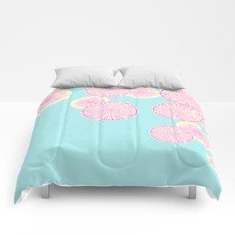 Watermelon Radish Abstract Comforters