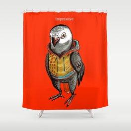 Impressive Parrot Shower Curtain
