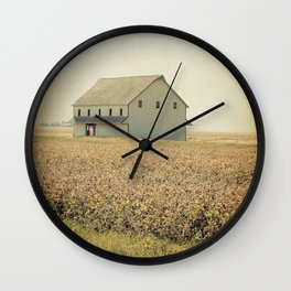 Lost in the prairie Wall Clock
