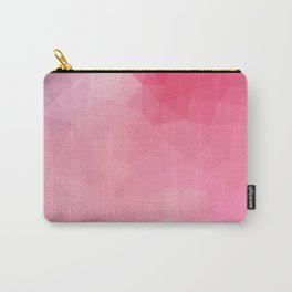 """Strawberry smoothie"" geometric design Carry-All Pouch"