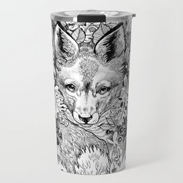 hidden fox Travel Mug