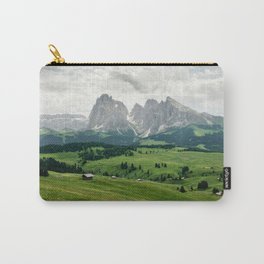 Mountain view in the Italian Dolomites Carry-All Pouch