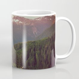 Mountain Sunset Bliss - Nature Photography Coffee Mug