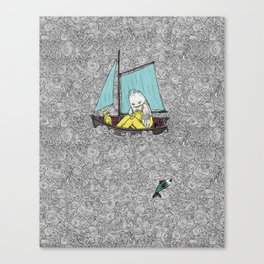 Old Man and the Sea Canvas Print
