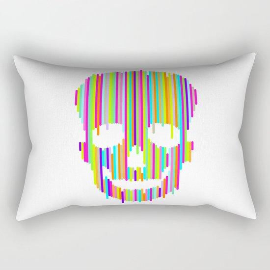 Skull Study no.1 Rectangular Pillow