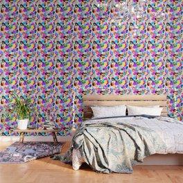 B APE colorful pattern Wallpaper