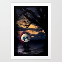 Sadness Self Art Print