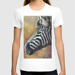Zebra - Alfred the Traveler - by LiliFlore T-shirt