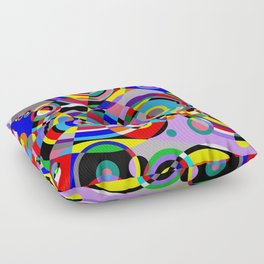 Raindrops by Bruce Gray Floor Pillow