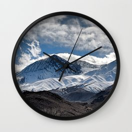 Sierra Nevada Mountains: Big Pine Wall Clock