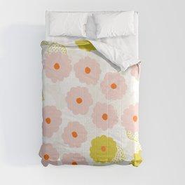 Olivia, flower child Comforters