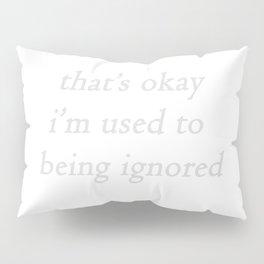 ignored: white Pillow Sham