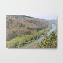 Die Donau 1 Metal Print