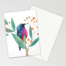 Rose-Bellied Bunting Stationery Cards