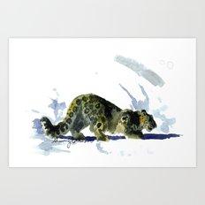 Spotty Art Print