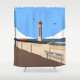 Cliftonville Lido, Margate Shower Curtain