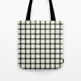 Ivory Weave Tote Bag